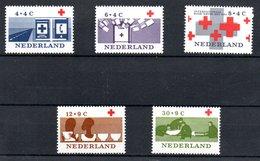 Pays Bas  / Série  N 775 à 779 /    NEUFS ** - Neufs