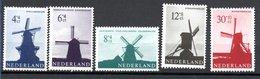 Pays Bas  / Série  N 769 à 773 /    NEUFS ** - Period 1949-1980 (Juliana)