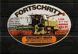 Autocollant  -    AMIENS    Matériel Agricole   FORTSCHRITT - Stickers