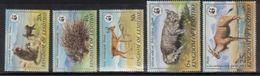 W36 WWF W.W.F. Lesotho Wild Animals / Fauna MNH Perf Stamps 1981 - W.W.F.