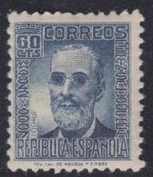 España 1938. Cifras & Personajes. Fermín Salvoechea. Ed 739. MNH. **. - 1931-50 Ongebruikt