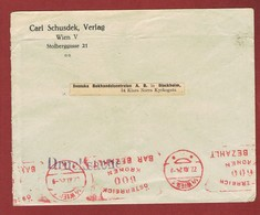 Infla Ab 1 Dez 1923 Ausland Sondertarif Drucksache Bar Bezahlt - 1918-1945 1. Republik