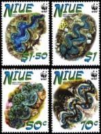 (WWF-317) W.W.F. Niue Small Giant Clam MNH Stamps 2002 - W.W.F.