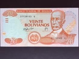 BOLIVIA P229 20 BOLIVIANOS 2006 UNC - Bolivie