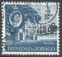 Trinidad & Tobago. 1960-67 QEII. 5c Used. SG 286 - Trinidad & Tobago (...-1961)