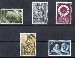 Pays Bas  / Série  N 747 à 751 /    NEUFS ** - Period 1949-1980 (Juliana)