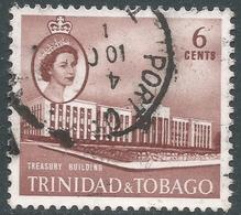 Trinidad & Tobago. 1960-67 QEII. 6c Used. SG 287 - Trinidad & Tobago (...-1961)