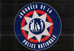 Autocollant  -       Journées De La POLICE NATIONALE - Autocollants
