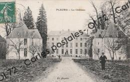 CPA [51] Marne > Pleurs - Le Chateau - Animée - Altri Comuni