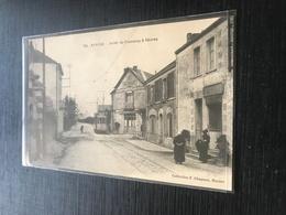 44   Nantes Arret Du Tramway à Sevres Cafe  Au Chalet Boucherie Clientes - Nantes