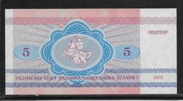 Belarus - 5 Rublei - Pick N°4 - NEUF - Belarus