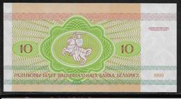 Belarus - 10 Rublei - Pick N°5 - NEUF - Belarus