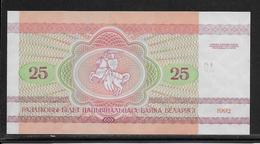 Belarus - 25 Rublei - Pick N°6 - NEUF - Belarus