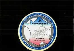 Autocollant  -      AUTOLIAISONS   Matériel      à   BARNES - Stickers