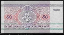 Belarus - 50 Rublei - Pick N°7 - NEUF - Belarus