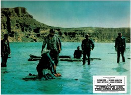 AFFICHETTE De CINEMA - LA POURSUITE DES TUNIQUES BLEUES De 1967 Avec INGER STEVENS - GLENN FORD - GEORGE HAMILTON  Etc.. - Posters