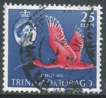 Trinidad & Tobago. 1960-67 QEII. 25c Used. SG 292 - Trinidad & Tobago (...-1961)