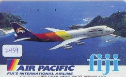 Télécarte  JAPON * AIR PACIFIC * FIJI  (2459) * AVIATION * AIRLINE Phonecard  JAPAN AIRPLANE * FLUGZEUG - Airplanes