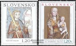 Slovakia 648-649 (complete Issue) Unmounted Mint / Never Hinged 2010 Art - Slovakia
