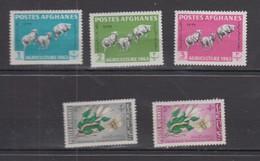 AFGHANISTAN 1963 * YT N° 695 A 699 - Afghanistan