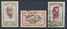 °°° COTE D'IVOIRE - Y&T N°181/85/87 - 1960 °°° - Costa D'Avorio (1960-...)