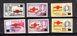 "Tonga - 1971. I 6 Francobolli "" Philatokyo 71 "".  The 6  ""Philatokyo 71"" Stamps. MLH, Rare - Esposizioni Filateliche"