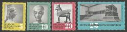 East Germany/DDR.  1959 Forrest Animals. SG E470-474. MNH - [6] Repubblica Democratica