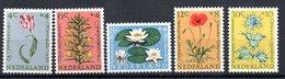 Pays Bas  / Série  N 719 à 723  /    NEUFS ** - Period 1949-1980 (Juliana)