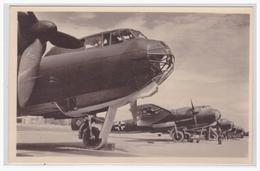 DT- Reich (000318) Propagandakarte Unsere Luftwaffe Kampfflugzeug Dornier Do-217, Ungebraucht - Germany