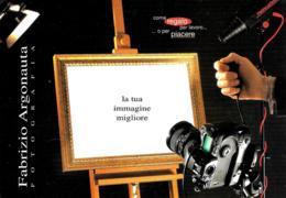 [MD2283] CPM - PUBBLICITARIA - TORINO - FABRIZIO ARGONAUTA FOTOGRAFIA - NV - Pubblicitari
