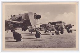 DT- Reich (000326) Propagandakarte Unsere Luftwaffe Focke- Wulf- Jäger Fw 190 Mit Doppelsternmotor BMW 801, Ungebraucht - Briefe U. Dokumente