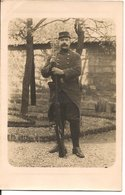 L32C08 - Portrait D'un Soldat Avec Un Fusil à Baillonnette - - Personaggi