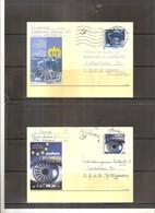 BK.96/97 - 100 Ans Salon De L'Auto De Bruxelles (à Voir) - Entiers Postaux