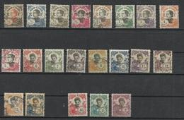 INDOCHINE N° 96 à 116 Neufs Et Oblitérés - Indochina (1889-1945)