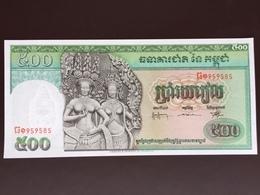 CAMBODIA P9C 500 RIELS 1958.1970 UNC - Cambodia