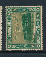 SARRE SAAR YVERT  95 MINT HINGED - 1920-35 Société Des Nations