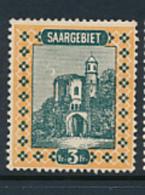 SARRE SAAR YVERT  99 MINT HINGED - 1920-35 Société Des Nations