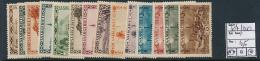 SARRE SAAR YVERT  107/120 MNH OR LH - 1920-35 Société Des Nations