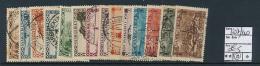 SARRE SAAR YVERT  107/120 USED - 1920-35 Société Des Nations