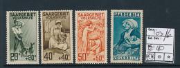 SARRE SAAR YVERT  103/106 MNH - 1920-35 Société Des Nations