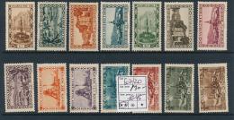 SARRE SAAR YVERT  107/120 MNH - 1920-35 Société Des Nations