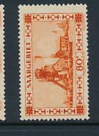 SARRE SAAR YVERT  115 MNH - 1920-35 Société Des Nations