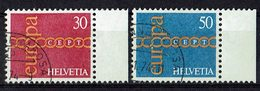 Schweiz 1971 // Mi. 947/948 O (M.028..364) - Europa-CEPT