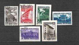 1950 - N. 1477/82 USATI (CATALOGO UNIFICATO) - Usati