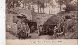 CAMPAGNE 1914 1915 54 E REGIMENT D'INFANTERIE TERRITORIALE - Guerre 1914-18