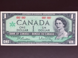 CANADA P84 1 DOLLAR 1967 UNC - Canada