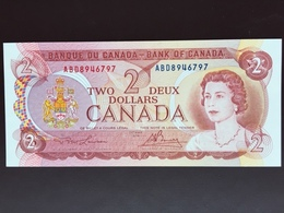 CANADA P86 2 DOLLARS 1974 UNC - Canada