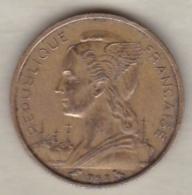 ILE DE LA REUNION. 10 FRANCS 1962 - Réunion