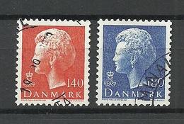 DENMARK 1980 Michel 702 - 703 Queen Margrethe O - Dänemark