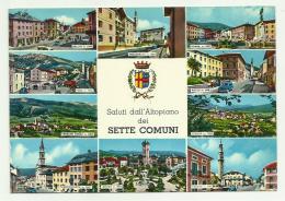 SALUTI DALL'ALTOPIANO DEI SETTE COMUNI -  VIAGGIATA FG - Vicenza